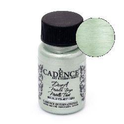 CADENCE DORA Ακρυλικό μεταλλικό χρώμα 50 ml. - MISTY GREEN 193