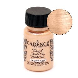 CADENCE DORA Ακρυλικό μεταλλικό χρώμα 50 ml. - PASSION FLOWER 160