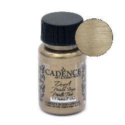 Акрилна боя металик CADENCE DORA 50 мл. - PERIDOT GOLD 171