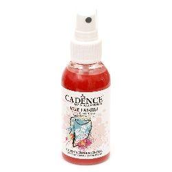 Textile spray paint CADENCE 100 ml. - SCARLET 1107