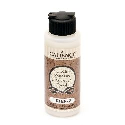 STEP TWO Crackle Effect, Cadence Mosaic/Eggs, 120ml