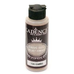 Pudra cu efect  de catifea CADENCE 120 ml. - CAMEL 120