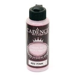 Pudra cu efect de catifea CADENCE 120 ml. - PINK 422