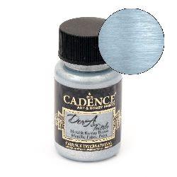 Боя текстилна металик CADENCE DORA Textile 50 мл. - AQUA 1145