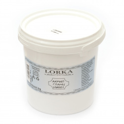 Acrylic gloss paint 1.0 kg - white