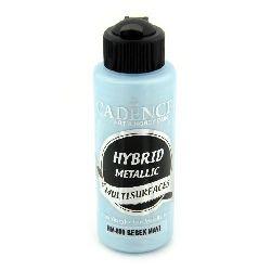 Акрилна боя металик CADENCE HYBRID 120 мл - BABY BLUE 809