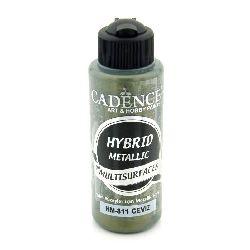 Акрилна боя металик CADENCE HYBRID 120 мл - WALNUT 811