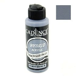 Acrylic Paint, Dark Slate Gray Color, Cadence Hybrid, 120 ml