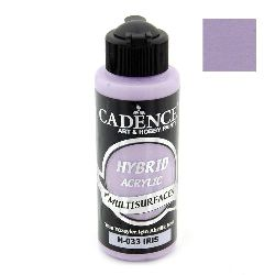 Acrylic Paint, IRIS H-033 Color, Cadence Hybrid, 120 ml