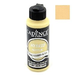 Acrylic Paint, Light Yellow, Cadence Hybrid, 120 ml