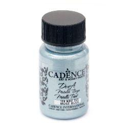 Акрилна боя металик CADENCE DORA 50 мл. - MUSE BLUE 180