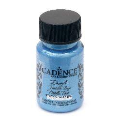 Акрилна боя металик CADENCE DORA 50 мл. - SKY BLUE 187