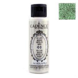 Акрилна боя металик CADENCE HI-LITTE MAGIC 70 мл. - GREEN 389