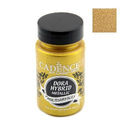 Акрилна боя металик CADENCE DORA HYBRID 90 мл - RICH GOLD 7136