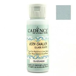 CADENCE 59 ml glass and porcelain paint - AQUA CG-1375