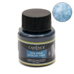 Paint with marble effect CADENCE EBRU 45 ml - LIGHT TURQUOISE 953