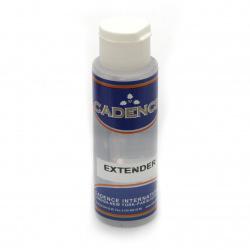 Разредител за акрилни бои CADENCE EXTENDER - 70 мл.
