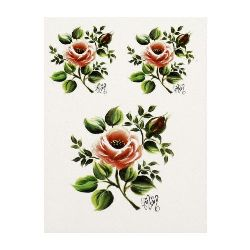Transfer paper for hand decoration17x25 CADENCE - G-04