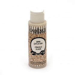 Crackle Effect Varnish, Cadence Glaze 70ml