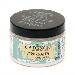 Акрилна боя CADENCE VERY CHALKY 150 мл - ANTIQUE WHITE CH-04