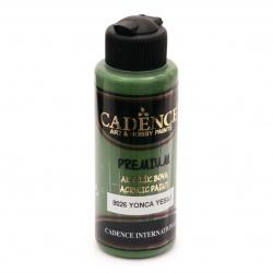 Акрилна боя CADENCE PREMIUM 120 мл - CLOVER GREEN 8026