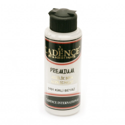 Acrylic Paint, Dirty White, Cadence Premium, 120 ml