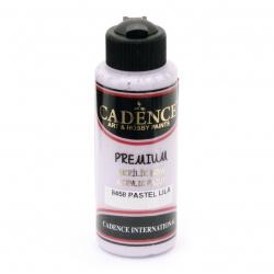Vopsea acrilica CADENCE PREMIUM 120 ml - PASTEL LILAC 8458