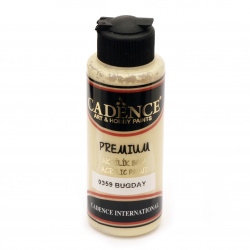 Acrylic Paint, Wheat, Cadence Premium, 120 ml