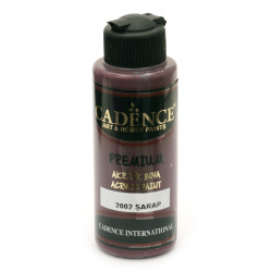 Acrylic Paint, Wine, Cadence Premium, 120 ml
