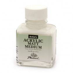 Acrylic medium PHOENIX Acrylic Matt Medium 75 ml