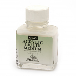 Acrylic medium PHOENIX Acrylic Liquid Medium 75 ml