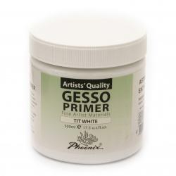 Grund de Heso PHOENIX Primer Gesso 500 ml - Alb alb