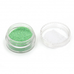 Resin colorant fine brocade 2.5 g in а box - green