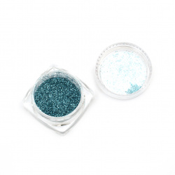 Resin colorant fine brocade 2.5 g in a box - deep pink rainbow