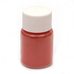 RESIN Pearl Pigment Dye Powder in a jar 25 ml.- red