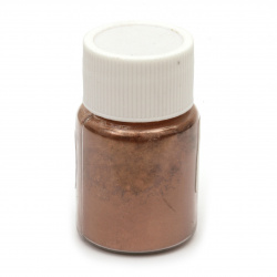 RESIN Pearl Pigment Dye Powder in a jar 25 ml.- honey
