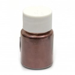 RESIN Pearl Pigment Dye Powder in a jar 25 ml -burgundy