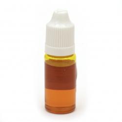 Оцветител за смола прозрачен 10 мл - оранжев