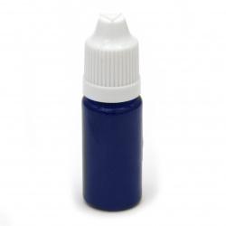 Оцветител за смола плътен 10 мл - син тъмно