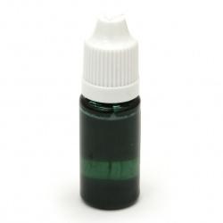 Оцветител за смола плътен 10 мл - зелен