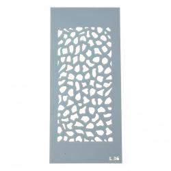 Шаблон за многократна употреба ЛОРКА размер на отпечатъка 15x7 см Л36