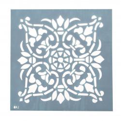 Шаблон за многократна употреба ЛОРКА размер на отпечатъка 18x18 см Л40
