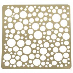 Шаблон за релеф и Mix media 20x20 мм кръгчета
