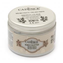 Pasta de sclipici în relief CADENCE 150 ml - SILVER 5835
