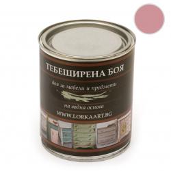 Тебеширена боя ЛОРКА 1 кг -топло розово CH433