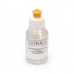 Gel igienic pentru mâini LORKA 72% alcool și glicerină -100 ml