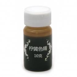 Оцветител (пигмент) за смола на маслена основа цвят лимоненожълт -10 мл