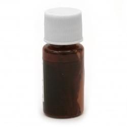Перлен оцветител (пигмент) за смола на маслена основа цвят оранжев -10 мл