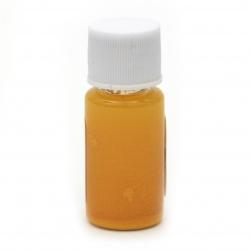 Оцветител (пигмент) за смола за заскрежен ефект на алкохолна основа цвят оранжев светъл -10 мл