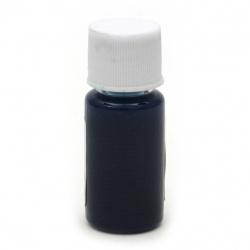 Оцветител (пигмент) за смола за заскрежен ефект на алкохолна основа цвят тюркоаз тъмен -10 мл